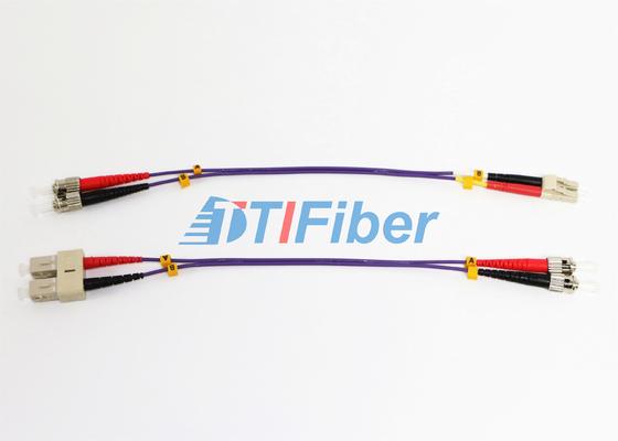 ROHS Optik Kablo Fiber Optik Jumper ile ST UPC Fiber Optik Patch Cord OM2 62.5