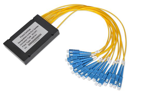 1 * 32 Ve 2 * 32 Fiber Optik Bareller ile 0.9mm 2.0mm 3.0mm Kablo, Multimode Fiber Splitter
