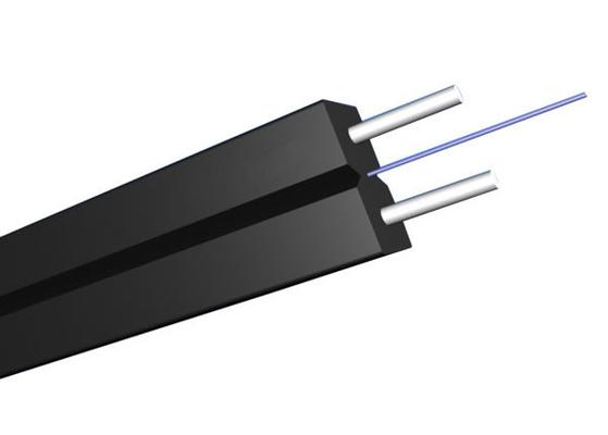 G657A2 Fiber Optik ile Kapalı Tekli GJYXCH FTTH Daire Bırak Kablo