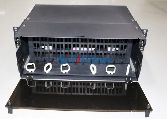 MTP / MPO Fiber Kaset Modülü 4U kayabilecek Fiber Optik Patch Panel