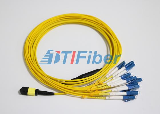 LC SM MTP / MPO Fiber Yama UPC Optik Fiber Connector ile Talepleri