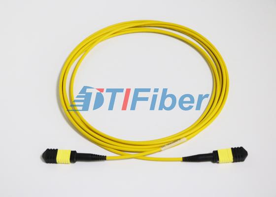 LSZH Ceket ile UPC / APC MTP Tekli Fiber Optik Patch Cordlar